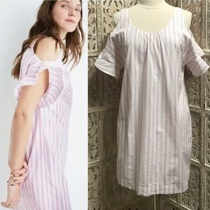 Madewell Rose Striped Shift Dress